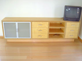 Busselton Cabinet Makers home theatre