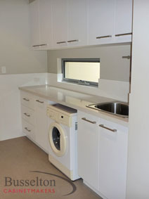 Busselton Cabinet Makers laundry